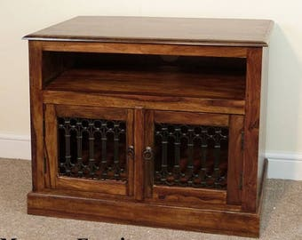 Indian jali straight tv unit