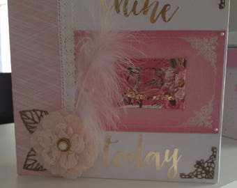 customizable photo scrapbook album