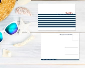 Card invitation post card size - without personalization