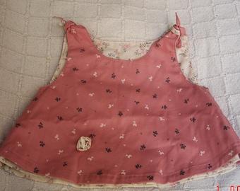 Reversible dress pink