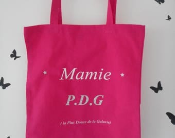 """tote bag for """"Grandma CEO (the softest of the Galaxy)"""""""