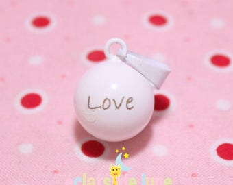 White Musical Harmonyball bail Bola Love 16mm