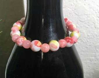 Pink Lemonade Stretch Bracelet