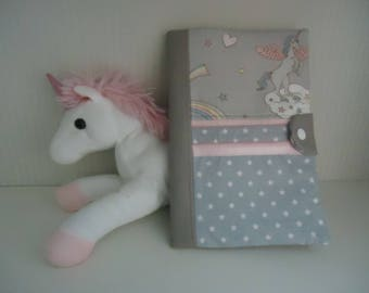 Unicorn girl health book