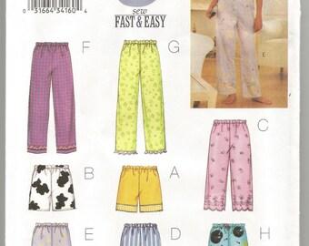Butterick pajama patterns