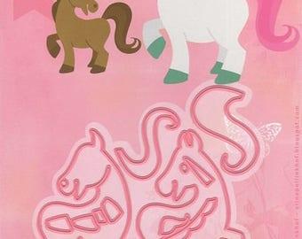 Dies Marianne Design - Horse and Unicorn