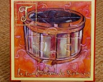 Romain tambourine