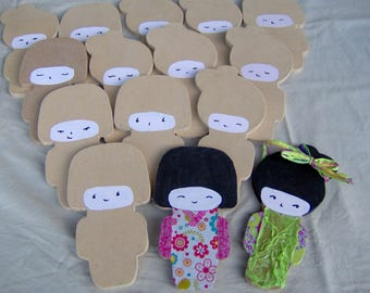 Wooden Kokeshi to customize