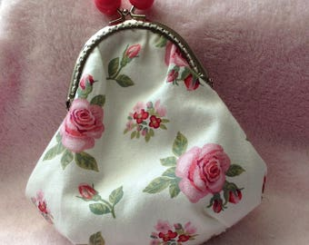 Old style with metal clasp purse