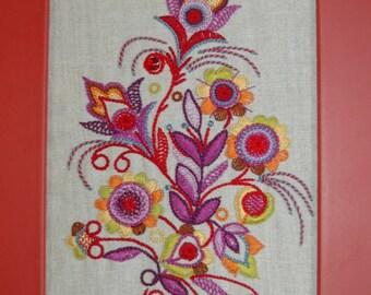 Breton embroidery silk thread