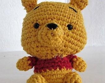 Mini bear amigurumi handmade crochet