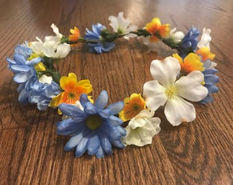 Sunshine Flower Crown
