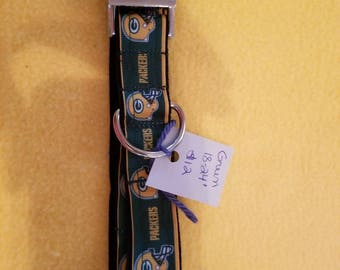 "Green Bay Packers 18""-24"" Dog Collar"