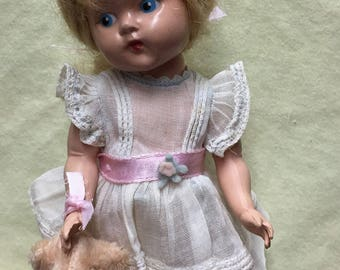 Vintage Vogue painted eye Ginny doll 1950's
