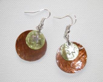 Earring Pearl sequins