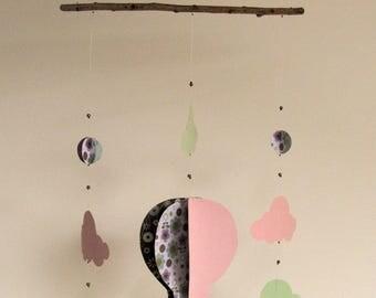 mobile montgolfi re et ses souris aventuri re. Black Bedroom Furniture Sets. Home Design Ideas