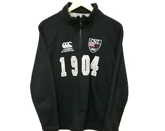 RARE!! Vintage Canterbury CNZ Canterbury of New Zealand with Zippers