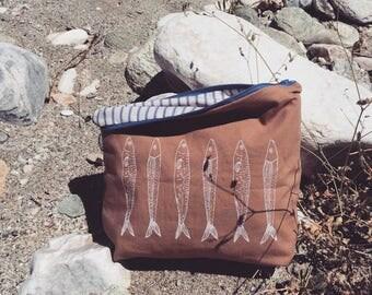 handmade bag (silkscreen print)