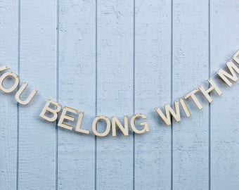 you belong with me banner