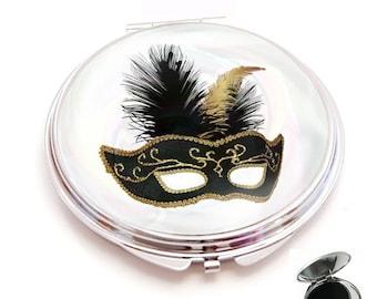 mirror cabochon resin mask, 50 shades of grey