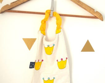 Canteen towel - 2/3 years old little yellow prince and stars