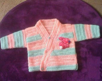 Set of bra and Bottons for little girl from 6 months