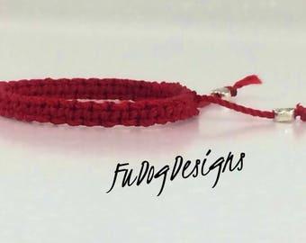 Red String of Fate Bracelets.  Distance bracelets, Matching bracelets. Couples Bracelets, Friendship bracelet, LDR gift, his and hers,