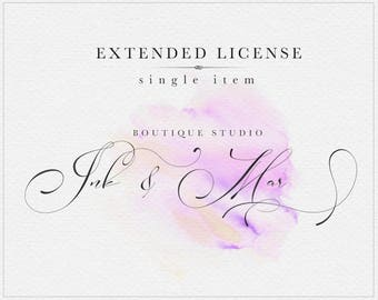 Extended License : Ink&Mar Studio - Single item license