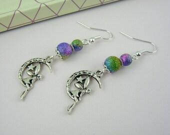 Fairy earrings - multicolor