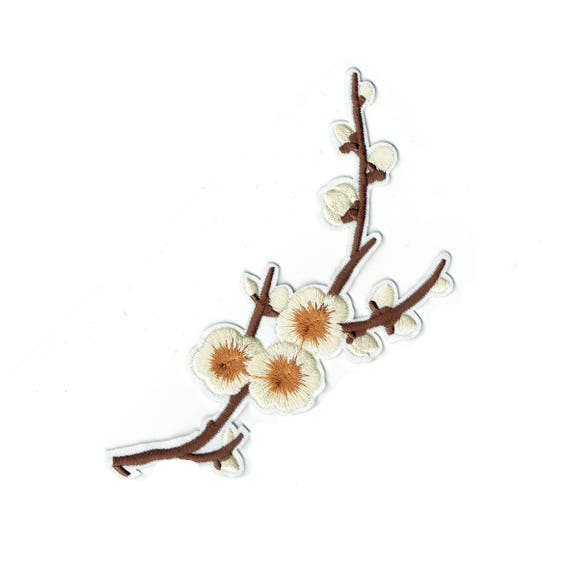 """Patch fusible pattern """"Cherry blossom branch"""""""