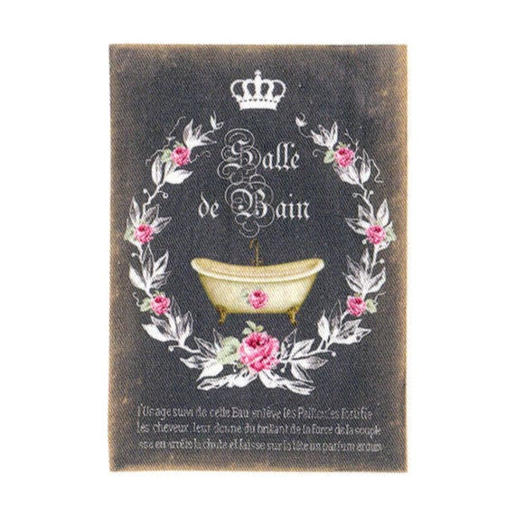 """Applied fusible - Collection """"Bath melts chalk"""" AT409-6"""