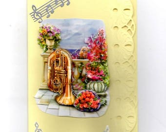 316 - Greeting card for birthday or anniversary