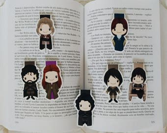 Game of Thrones (House Stark) — magnetic bookmarks