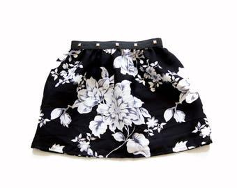 Printed flower girl skirt