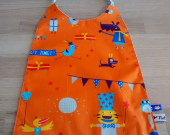 Towel pattern animals kids party