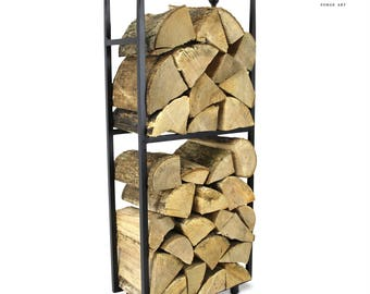 The Leicestershire Log Holder Firewood Rack Log Basket Firewood Rack Firewood Storage