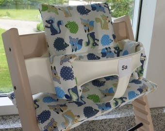 NEW seat cushion set cotton not suitable for coated Stokke Tripp Trapp high chair