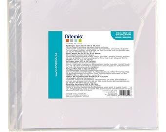 Plastic bags x 10 Scrapbook 30.5 x 30.5 cm - Ref 11010035