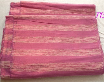 Woven fabric of cotton and shiny yarn for clothes decoration cushions