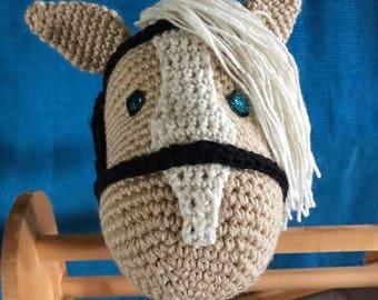 Wooden Stick Hobby Horse