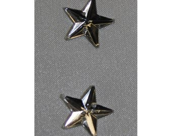 looks like Star-16 mm silver rhinestone