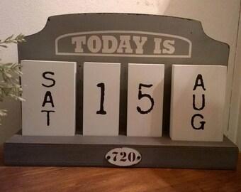 """TODAY IS"" PERPETUAL CALENDAR"