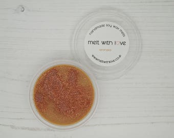 Bronzed - Soy Wax Melt Shot Pot. Soy wax melts, soy wax, glitter wax melts, glitter candle melt, wax melt favour, wax melt.