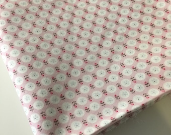 Liberty cotton fabric flowers - sold by 10 cm