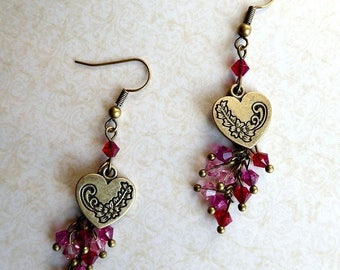 Dangling earrings - Something About Love