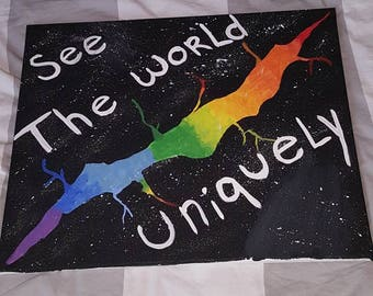 See the world uniquely