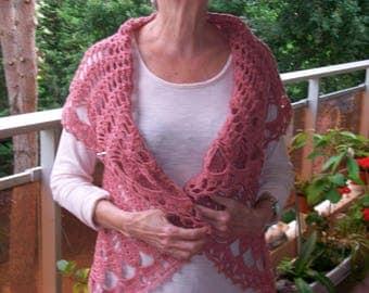 Vest crochet acrylic sleeveless jacket