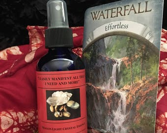 I Easily Manifest All That I Need & More-Crystal Essence Spray