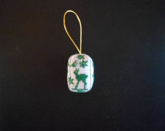 Christmas decoration 3D embroidered.