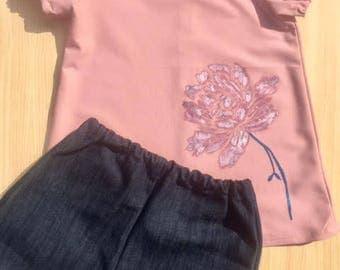 Pink Lotus Flower set